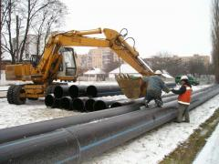 Protection of pipelines against frosts Ukraine