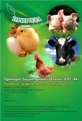 Ветеринарный пробиотик БПС-44 производство
