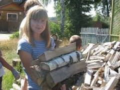 The help to parents, relatives to Sumy for