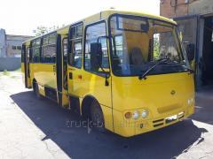 Body repair of the bus Bogdan