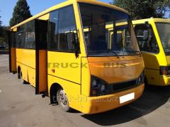 Body repair of the I-VAN bus