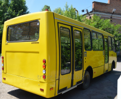 Re-equipment of buses Bogdan (disabled person)