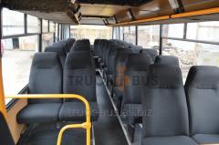 Repair of inside of buses