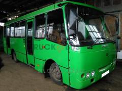 Recovery repair of buses Bogdan