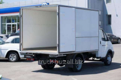 Production and installation of thermal vans