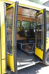Переоборудование автобусов (инвалид)  I-VAN,