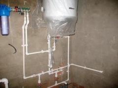 Монтаж котлов электрических водогрейных