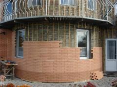 Facing of facades