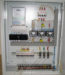 Installation of boards of accounting, protective