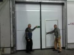 Сервис и Монтаж дверей для холодильных и морозильных камер