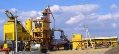 Сервисное обслуживание асфальтобетонных заводов и оборудования