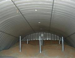 Строительство зернохранилища