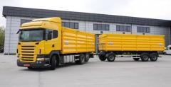 Перевозка зерна автотранспортом Николаев