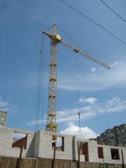 Rent of a tower crane