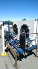 Installation of second-hand refrigerating