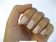 Polishing of nails