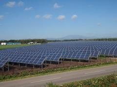 Будівництво наземних сонячних елнктростанцій