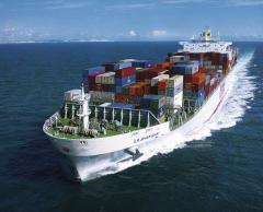 Development of an optimum route of a cargo