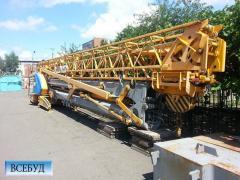 Аренда строительного крана Potain IGO 36