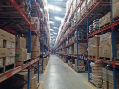 Warehouse processing of freights