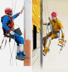 Промышленный альпинизм штукатурные работы Херсон