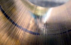 Polishing of an internal surface of capacity