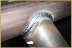 Polishing of welding seams