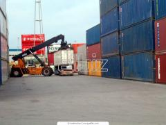 Staffirovka of load in the container