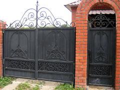 Художественная ковка ворот и калиток Херсон