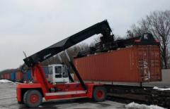 Transfer of containers