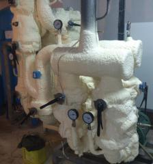 Polyurethane foam isolation