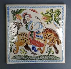 Ручная роспись на плитках, изразцах, сувенирах