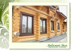 Утепление и ремонт деревянных домов