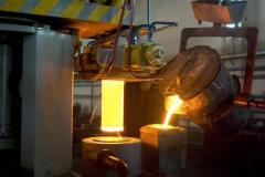 Molding under pressure