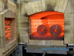 Heat treatment in mine furnaces