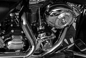 Nickel plating of motorcycle details