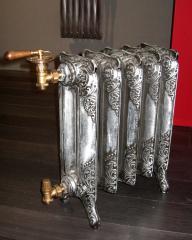 Silvering of radiators