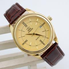 Gilding of a watch