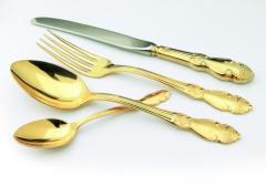 Gilding of tableware