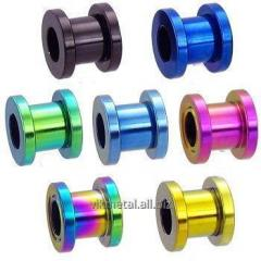 Color anodizing