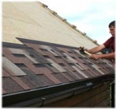 Mounting, repair of soft roof