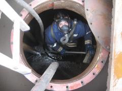 Очистка емкостей от нефтепродуктов, ГСМ