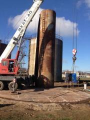 Демонтаж технологического оборудования на резервуаре нефтепродуктов, Демонтаж электроэнергетического оборудования