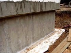 Anticorrosive processing of concrete, steel