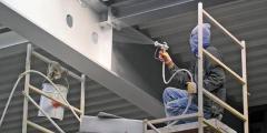 Нанесение защитных покрытий, покраски на металлоконструкции, промышленный альпинизм