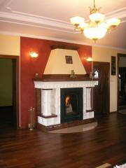 "Fireplace in ""retro"" -"