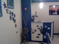 Декоративная отделка стен керамикой