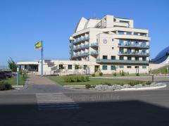 Design of hotels, health resorts