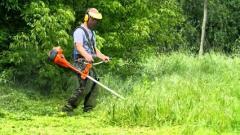 Покос травы в Херсоне и области.