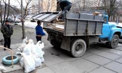 Погрузка строительного мусора в Херсоне недорого!